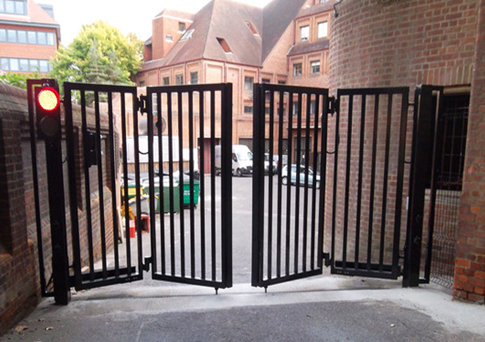 Bi Folding Gates Perfect For Small Areas Safeyard