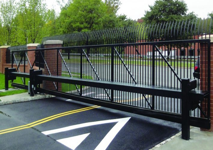 Cantilever Gate Sliding Gates For Uneven Ground