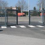bi-folding gates