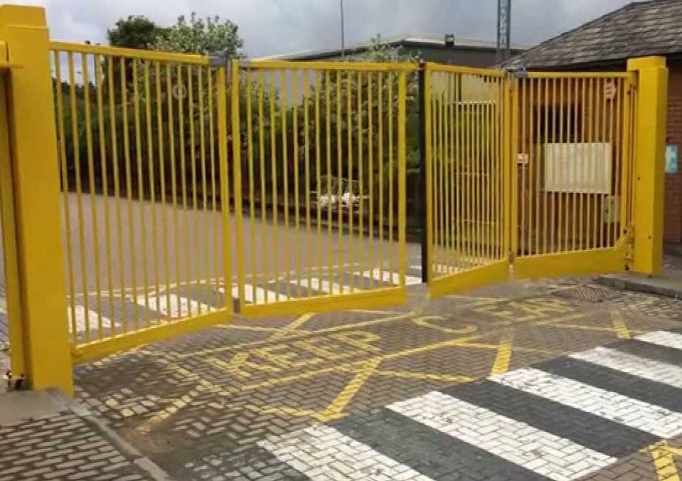 Bi Folding Gates Perfect For Small Areas Safeyard