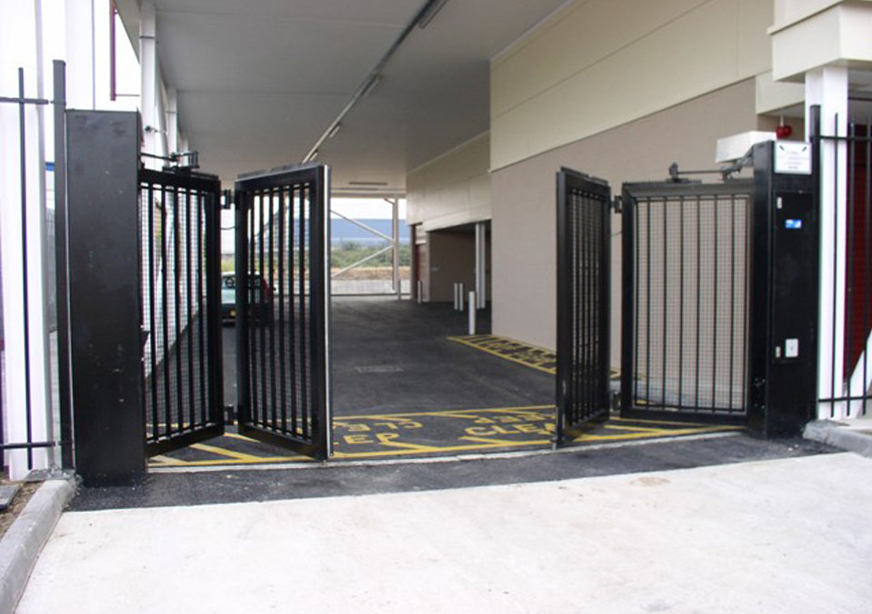 Bi-Folding Gates - perfect for small areas | Safeyard ...